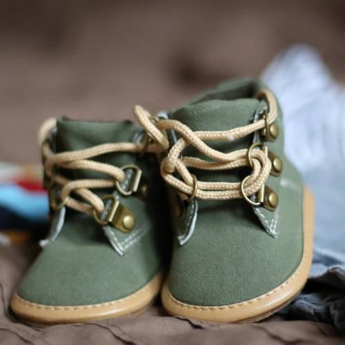 quelle fermeture pour les chaussures de bébé