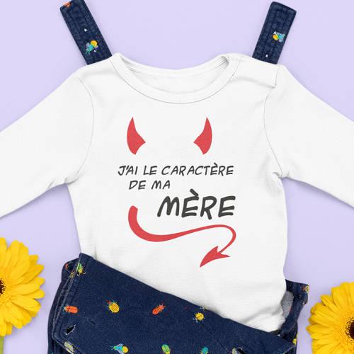 vetements bébé humoristiques